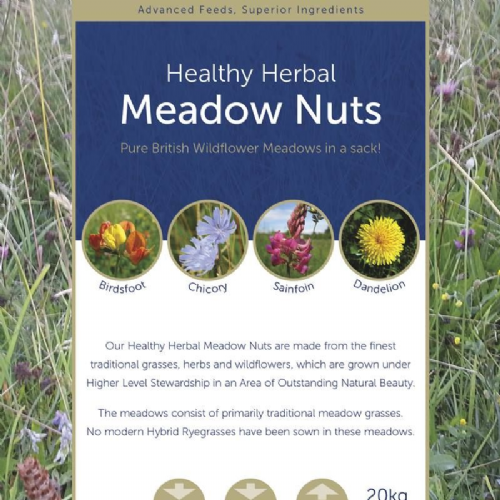Thunderbrooks - Healthy Herbal - Meadow Nuts - 20kg